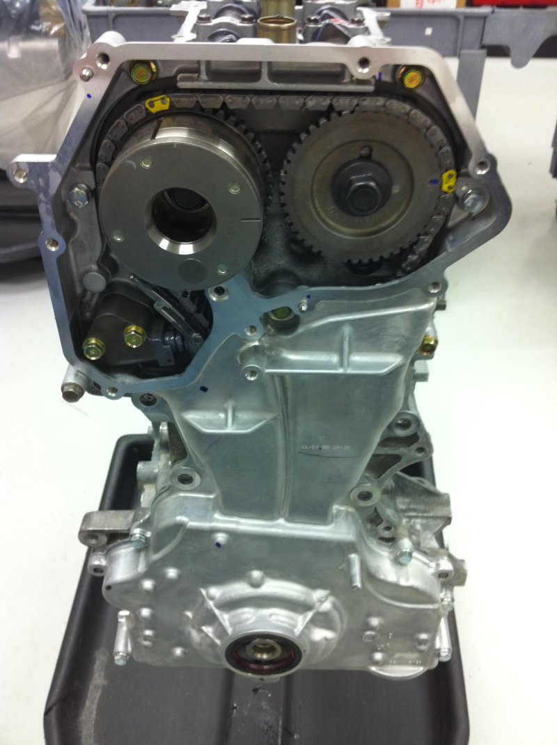 Timing Point On A Qr25 Nissan Engine