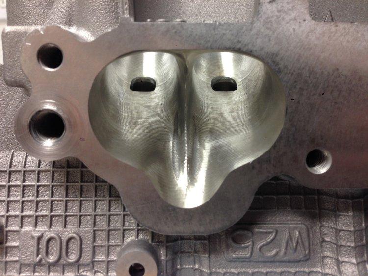 Cylinder Head Porting >> Larryspower Com Larry S Auto Machine Cnc Cylinder Head Porting